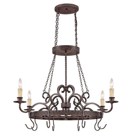 island pot rack light fixture new 4 light colonial island pot rack lighting fixture