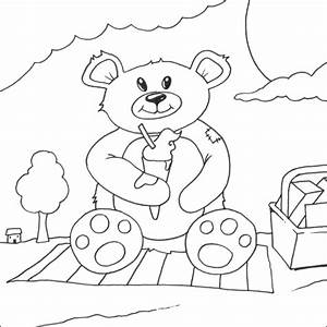 Ice Cream Teddy Bear Picture