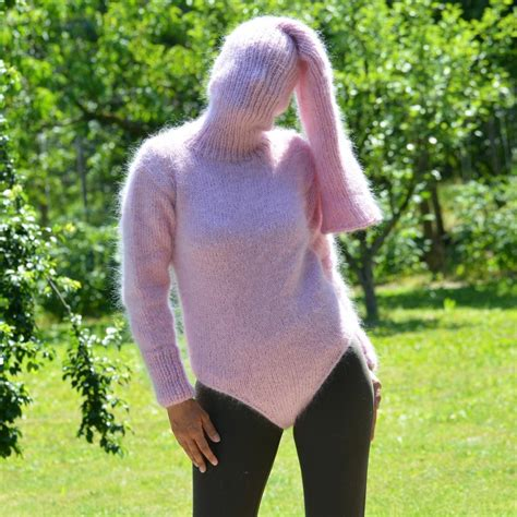 heavy wool blankets for sale supre knitted mohair sweater bodysuit pink color