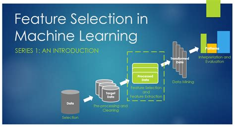 Feature Selection and Feature Extraction in Machine ...