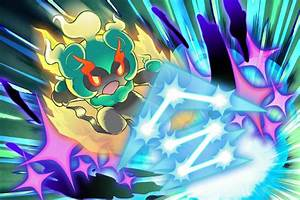 Pokémon's newest legendary is an adorable fighting ghost ...  Legendary