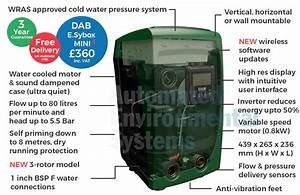Dab E Sybox Mini 3 Electronic Cold Water Booster Pump