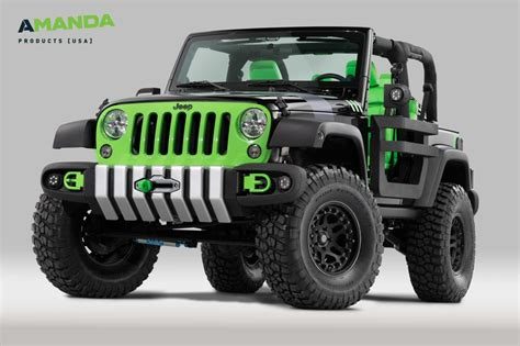 beach jeep accessories amanda products to drive prototype jeep at 2015 woodward