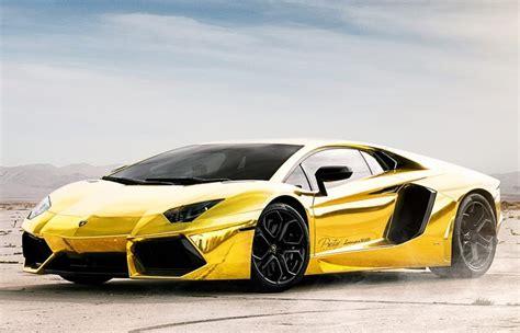 cars lamborghini gold 5 5 million dollars pure gold lamborghini aventador