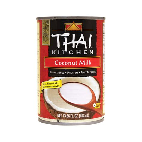 thai kitchen organic coconut milk thai kitchen coconut milk 8446
