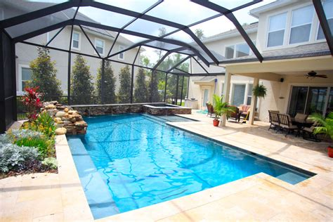 florida house plans with pool florida custom swimming pool gallery pool designs by