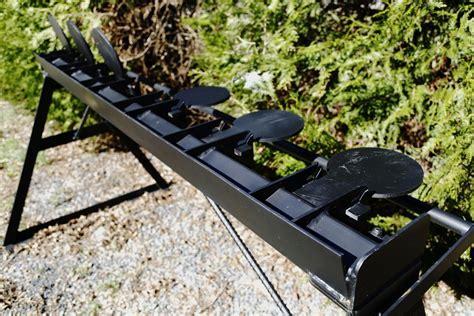 plate rack steel target defense targets