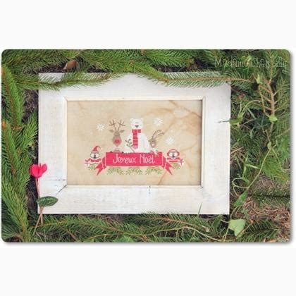 christmas   forest  madame chantilly cross