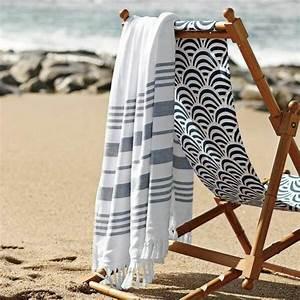 Fouta De Plage : la serviette de plage 80 variants chic et originales ~ Teatrodelosmanantiales.com Idées de Décoration