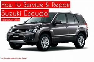 Suzuki Escudo Service Repair Manual 2005