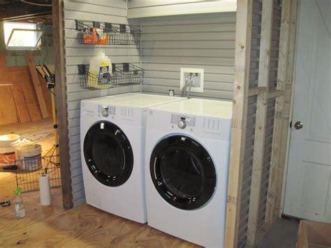 Using Slatwall For Laundry Room Organization