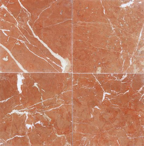 "Rojo Alicante Marble Tile 12""x12"""