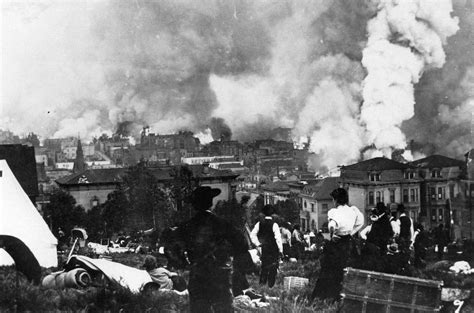 San Francisco 1906 Earthquake and Fire