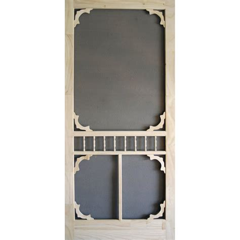 screen doors lowes screen tight colonial wood wood screen door