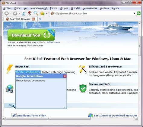 Slimboat Web Browser by Slimboat Web Browser Descargar Gratis