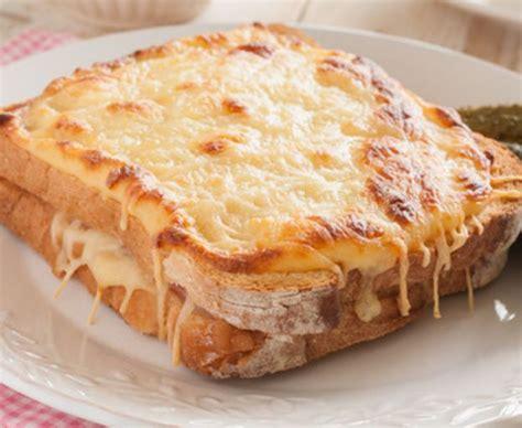 cuisine de pomme de terre recette facile de croque monsieur à la française