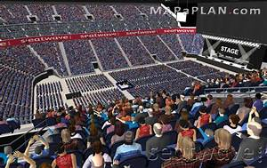 O2 Arena London seating plan - Detailed seat numbers ...