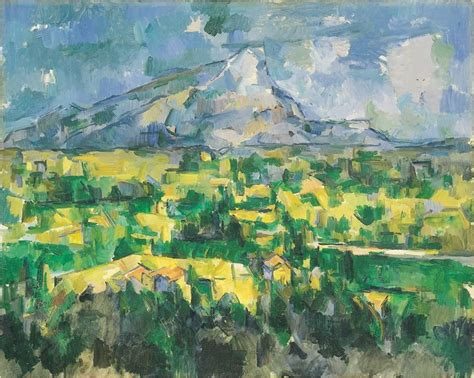cezanne mont sainte victoire realism impressionism and history 1b with o brien at california state