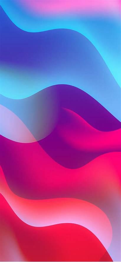 Gradient Wallpapers Iphone Spectrum Waves Backgrounds Ipad