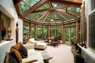 Modern Elegant Living Room by 50 Contemporary Sunrooms With Charming Spaces