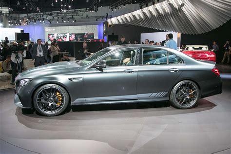 2018 Mercedes-amg E63 And E63 S Sedan First Look