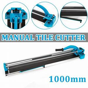 40 U0026quot  Manual Tile Cutter Cutting Machine Durable Adjustable