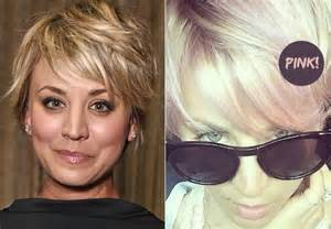 diy wedding fans hair capelli rosa per kaley cuoco come richie e