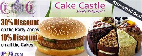 cake castle bakery hyderabad offers discount coupons deals