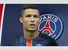 In France they're already dressing Ronaldo in PSG colours