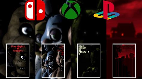 The Fnaf Ports Release Tomorrow 1 4 On Switch Xbox One