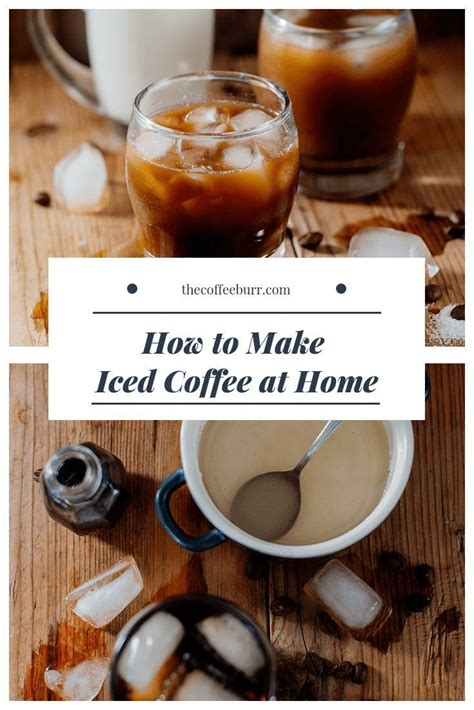 I'll present mine favorites and let you decide what there are several different systems to make cold brew but i like this mason jar one the most. 4 Easy Ways to Make Iced Coffee at Home | Iced coffee at home, Cold coffee drinks recipes, Cold ...