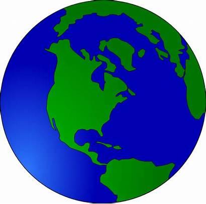 Earth Clipart Globe Crust Clip Earths Animated