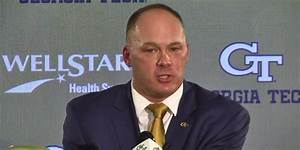 New Georgia Tech coach Geoff Collins reportedly cutting ...