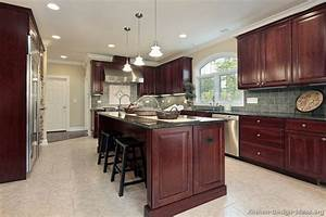 Pictures of Kitchens - Traditional - Dark Wood, Cherry