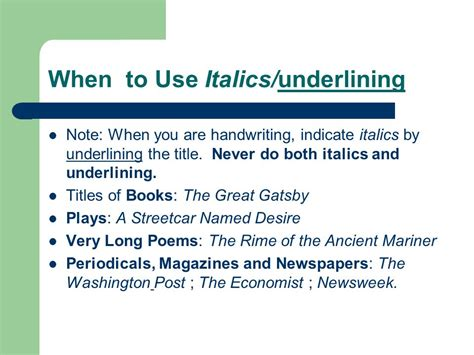 "Punctuating Titles Italics Or ""quotes""?  Ppt Download"