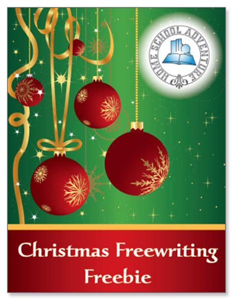 Christmas Writing Freebie  Free Homeschool Deals