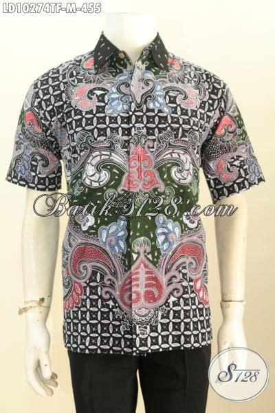 model baju batik kerja pria terkini hem batik tulis
