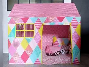 Cabane Enfant Tissu : cabane tissu enfant les cabanes de jardin abri de jardin et tobbogan ~ Teatrodelosmanantiales.com Idées de Décoration