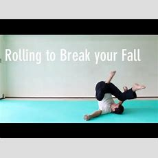 How To Roll To Break Your Fall Youtube
