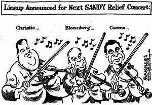 CARTOON: Christie, Bloomberg, Cuomo to head next Hurricane ...