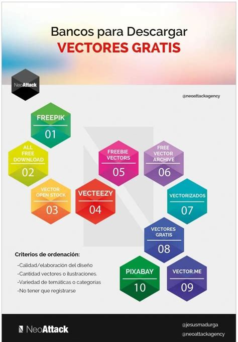 Descargar Templates Illustrator Gratis by Los 10 Mejores Bancos De Vectores Gratis Para Descargar