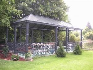 kiosque de jardin metallique inspiracion para el diseno With good gloriette de jardin en fer forge 3 tonnelle en fer forge d occasion