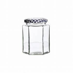 Bocal En Verre Avec Couvercle : kilner bocal hexagonal en verre avec couvercle 280 ml les secrets du chef ~ Teatrodelosmanantiales.com Idées de Décoration