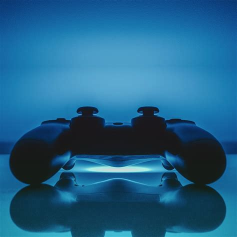 ps controller blue cool wallpapersc ipad