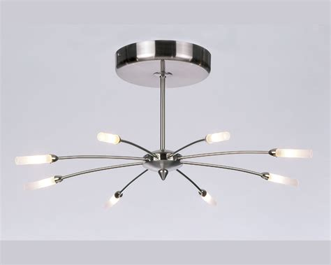 1610 8 endon lighting pendant brushed steel ceiling