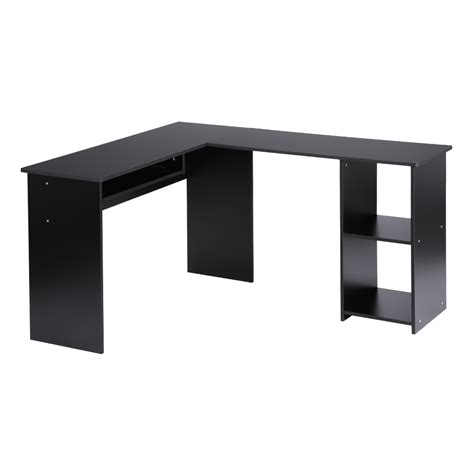 l shaped table desk computer pc corner desk l shaped home office laptop table