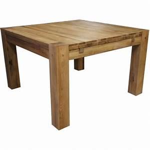 Table En Bois Carré : table carr ~ Teatrodelosmanantiales.com Idées de Décoration