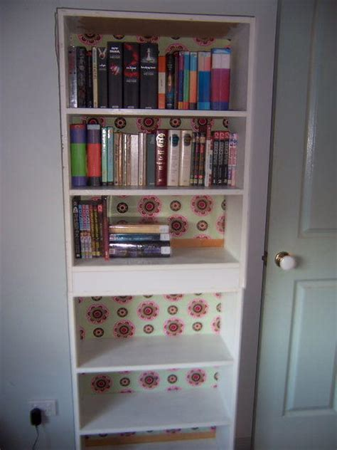 beautiful bookshelf decoupage favecraftscom