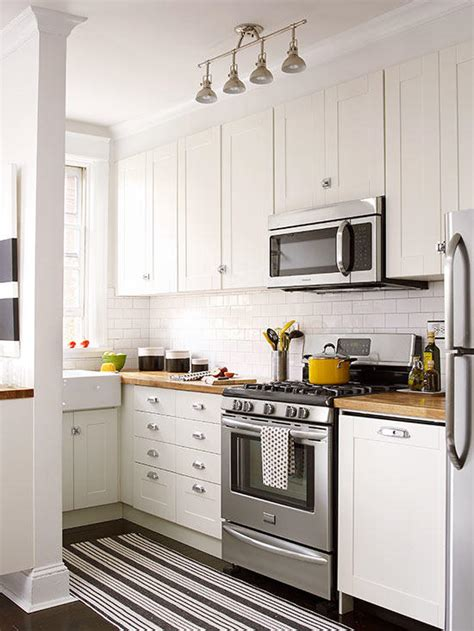 Small White Kitchen Ideas small white kitchens better homes gardens