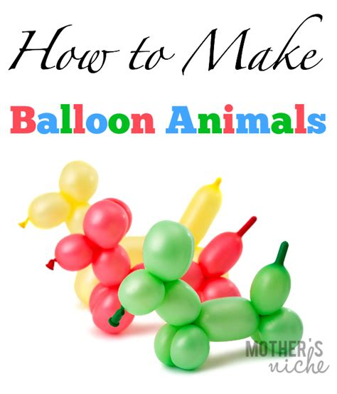 how to make balloon animals how to make balloon animals pictures long hairstyles